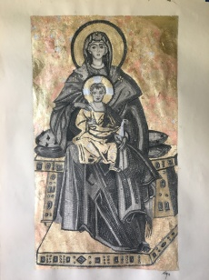 Our Lady of Hagia Sophia SOLD